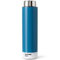 Голубая бутылка Pantone Blue 2150 для воды, фото