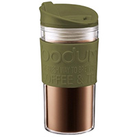 Термокружка Bodum Travel Mug зеленого цвета 0,35л, фото