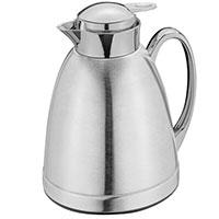 Термос-чайник Cilio Coffee and Tea серебристого цвета 1л, фото