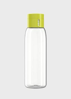 Бутылка для воды Joseph Joseph зеленая с индикатором 0,6л, фото