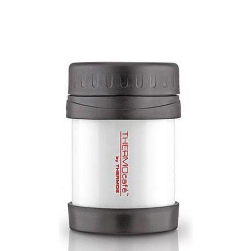 Термос TERMOcafe Classique белый на 0,3л для пищевых продуктов, фото