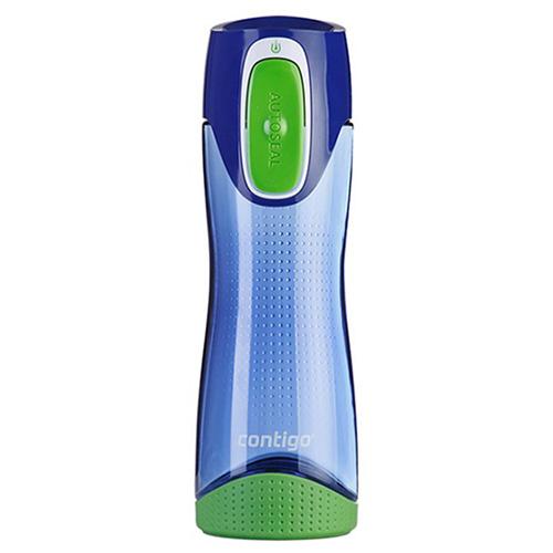 Полупрозрачная бутылка Contigo Swish спортивная 500 мл, фото