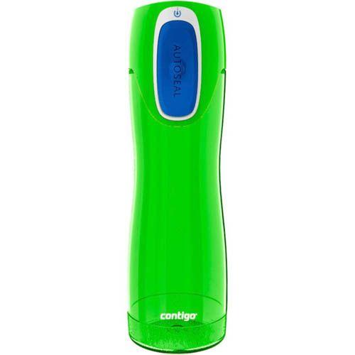 Бутылка спортивная Contigo Rush 550 мл полупрозрачная цвета лайма, фото