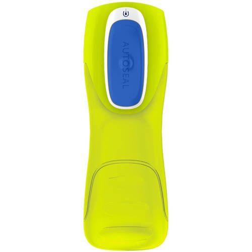 Бутылка спортивная Contigo Kids Trekker 420 мл желтая непроливаемая, фото