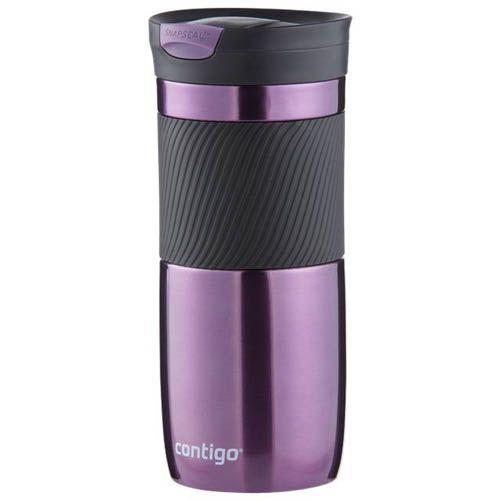 Термостакан Contigo Byron 16 объемом 470 мл фиолетового цвета, фото