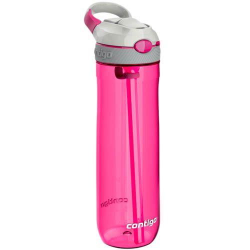 Спортивная бутылка Contigo Ashland объемом 720 см розового цвета, фото