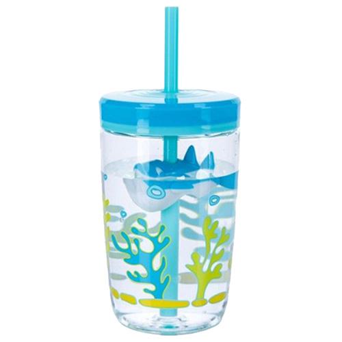 Детский стакан с трубочкой Contigo Floating Straw Tumbler 470 мл, фото