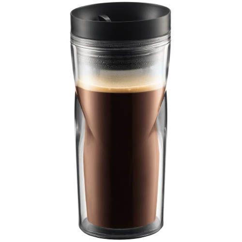 Кружка дорожная Bodum черная 0,35 л, фото