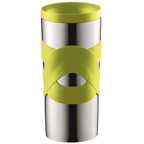 Кружка вакуумная Bodum Travel Mug зеленая 0,35 л, фото