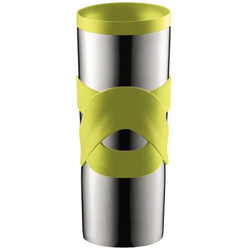 Кружка вакуумная Bodum Travel Mug зеленая 0,45 л, фото