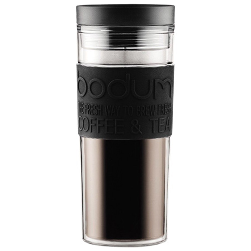 Термокружка Bodum Travel Mug черного цвета 0,45л, фото