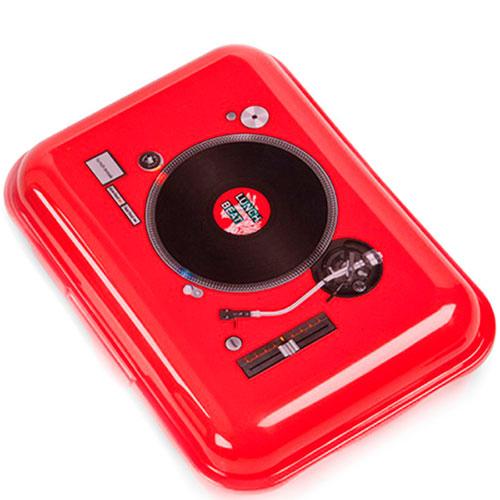 Ланч-бокс Donkey DJ Club красного цвета, фото