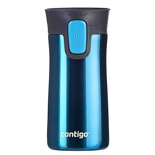 Термокружка Contigo Pinnacle синего цвета 300мл, фото