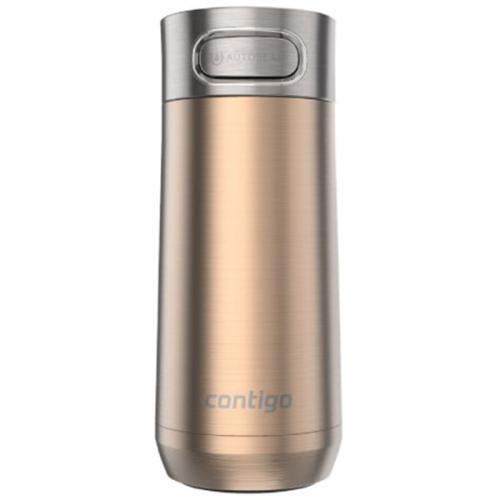 Термокружка Contigo Luxe золотистого цвета 360мл, фото