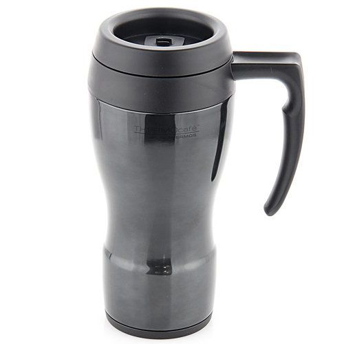 Термокружка TERMOcafe черная 0,45л, фото