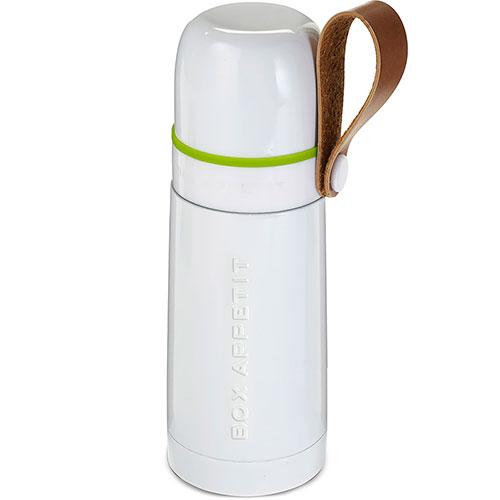Термос стальной Black+Blum Thermo Flask белый, фото