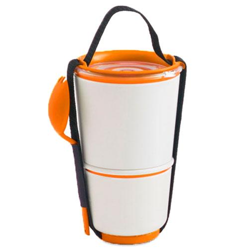 Ланч-бокс Black+Blum Lunch Pot с оранжевым, фото