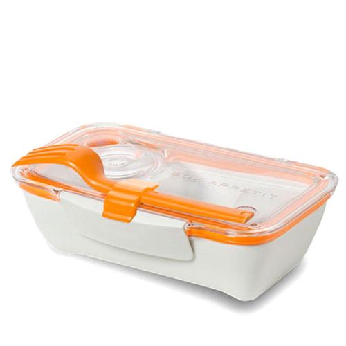 Ланч-бокс прямоугольный Black+Blum Bento Box с оранжевым, фото