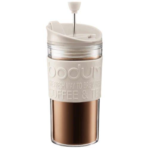 Стакан Bodum Mini Travel Press френч-пресс белый 0,35 л, фото