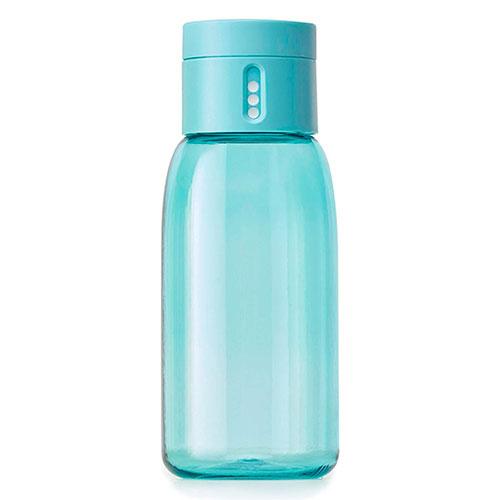 Бутылка для воды Joseph Joseph Dot Hydration с индикатором голубая, фото