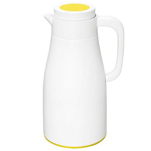 Термос PO Selected Evo-Dewar Vacuum белый с желтым, фото