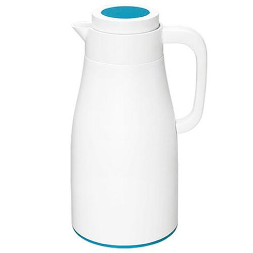 Термос PO Selected Evo-Dewar Vacuum белый с голубым, фото