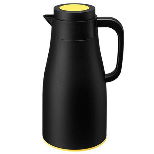 Термос PO Selected Evo-Dewar Vacuum черный с желтым, фото