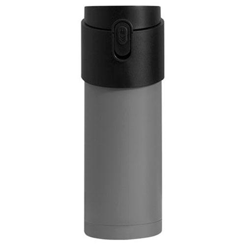 Термокружка с заварником PO Selected Pao серая с черным, фото