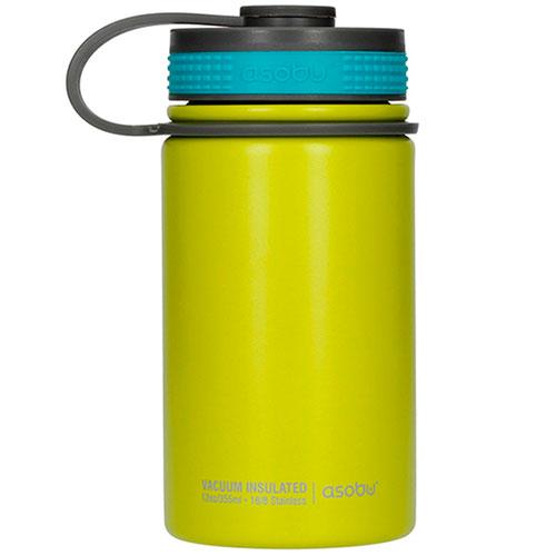 Термобутылка Asobu Mini Hiker цвета лайма, фото