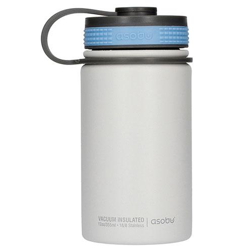 Термобутылка Asobu Mini Hiker белого цвета, фото