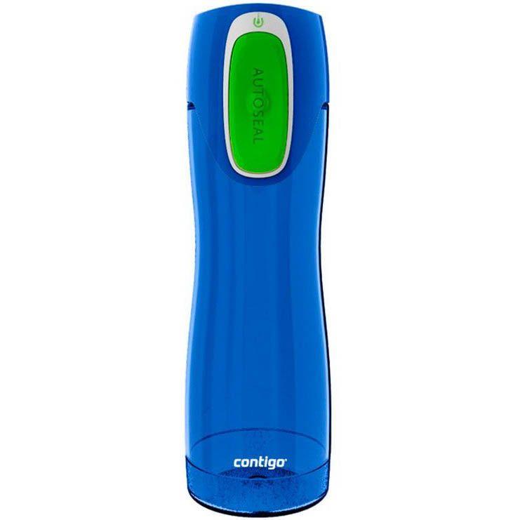 Бутылка спортивная Contigo Rush 550 мл полупрозрачная синяя