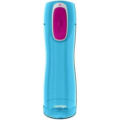 Бутылка спортивная Contigo Rush 550 мл полупрозрачная голубая
