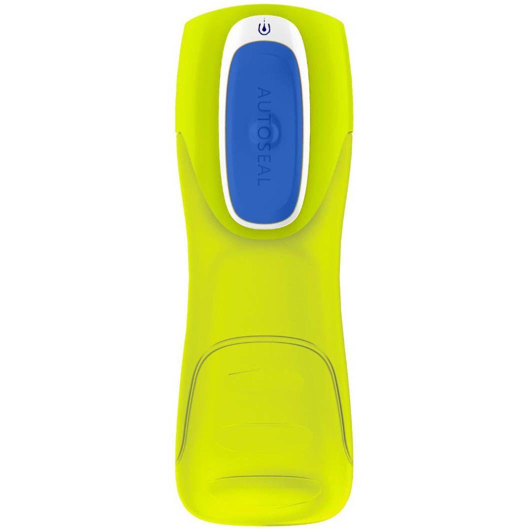 Бутылка спортивная Contigo Kids Trekker 420 мл желтая непроливаемая