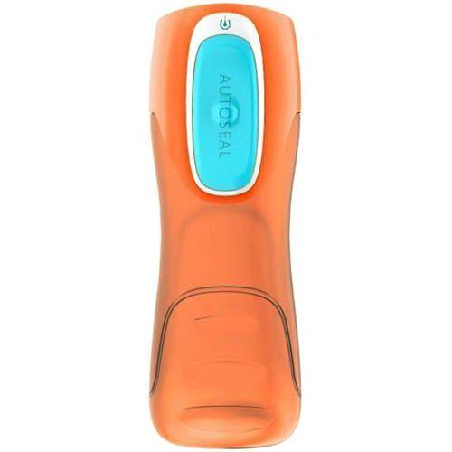 Бутылка Contigo Kids Trekker 420 мл непроливаемая детская оранжевая