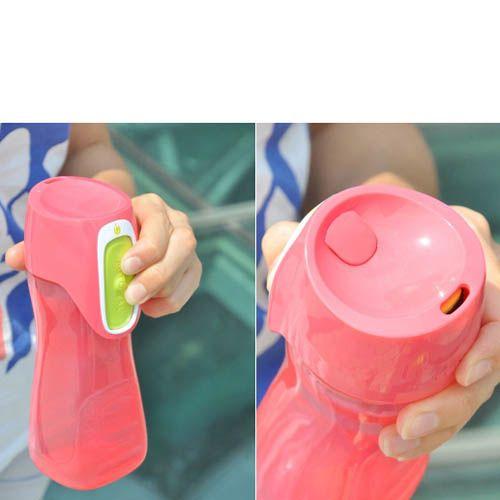 Бутылка Contigo Kids Trekker 420 мл непроливаемая детская розовая
