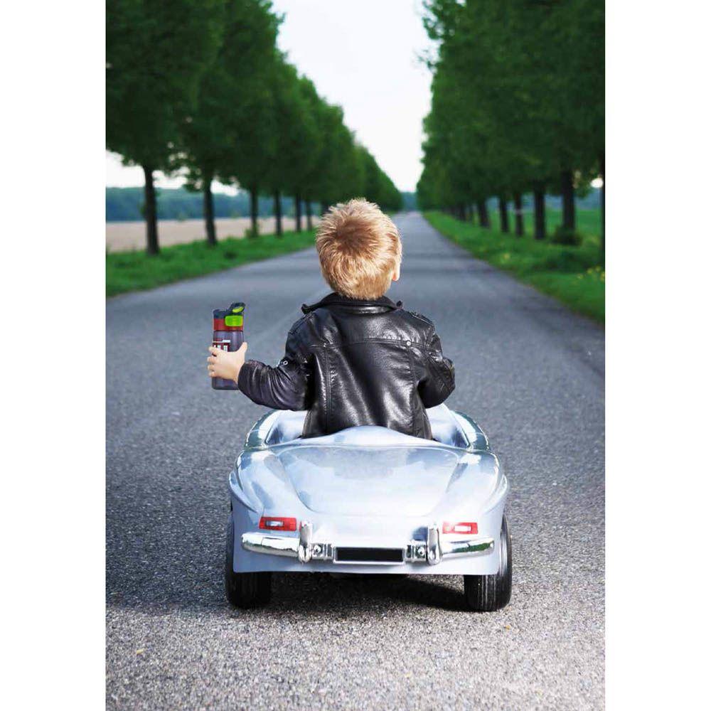 Бутылка детская Contigo Striker 420 мл синяя с роботами