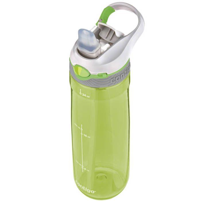 Спортивная бутылка Contigo Ashland объемом 720 см зеленого цвета