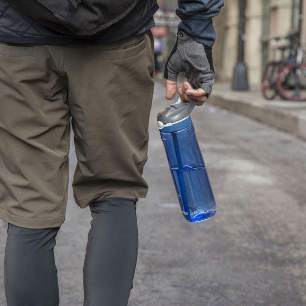 Спортивная бутылка Contigo Ashland объемом 720 мм синего цвета