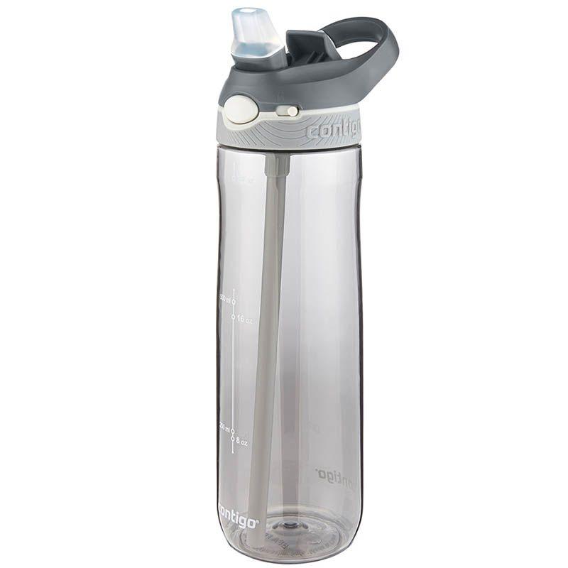 Спортивная бутылка Contigo Ashland объемом 720 см серого цвета