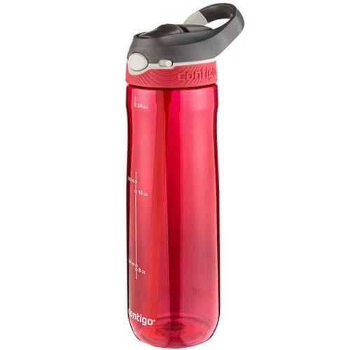 Спортивная бутылка Contigo Ashland объемом 720 см красного цвета