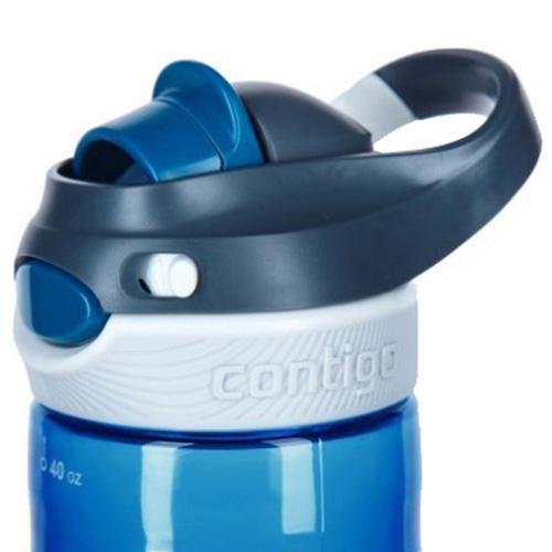 Бутылка спортивная Contigo Autospout Chug голубая 1200 мл