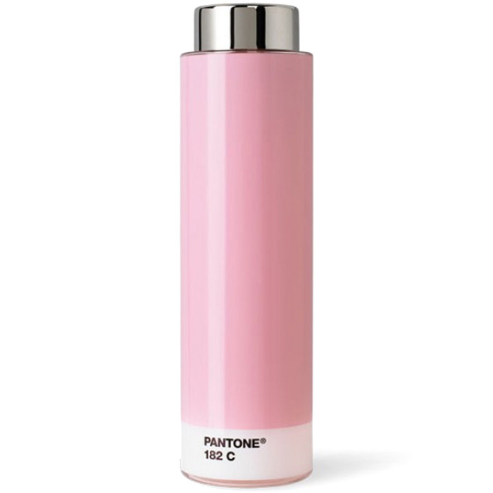 Бутылка для фитнеса Pantone Light Pink 182 розового цвета