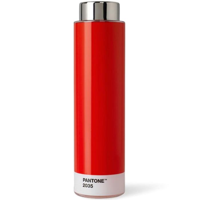 Красная спортивная бутылка Pantone Red 2035