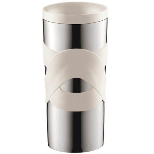 Кружка вакуумная Bodum Travel Mug белая 0,35 л