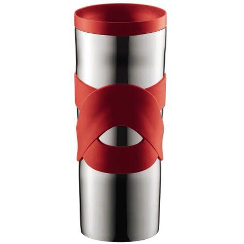 Кружка вакуумная Bodum Travel Mug красная 0,45 л