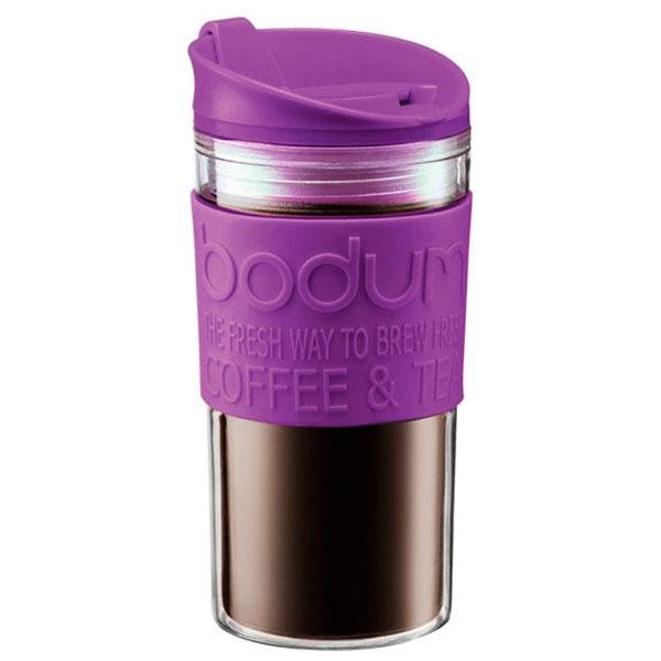 Стакан дорожный Bodum Travel Mug фиолетовый