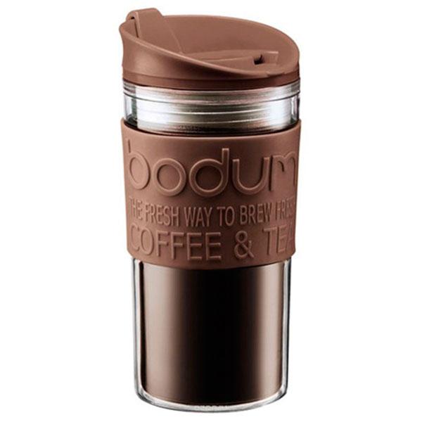 Стакан дорожный Bodum Travel Mug коричневый