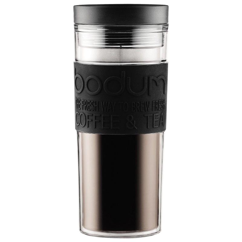 Термокружка Bodum Travel Mug черного цвета 0,45л