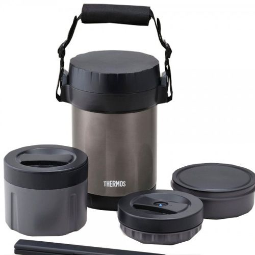 Термос THERMOS с тремя контейнерами для еды
