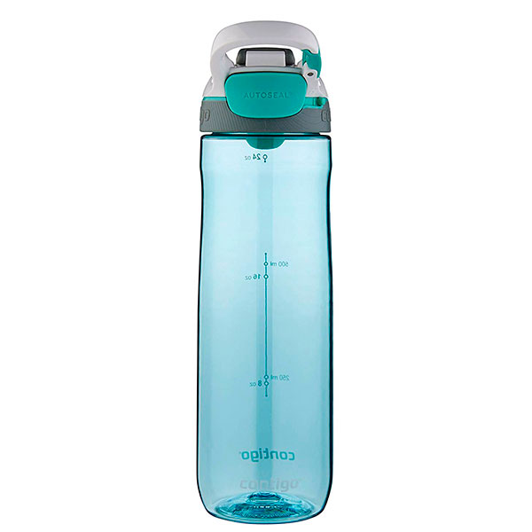 Спортивная бутылка Contigo Cortland 720мл бирюзового цвета